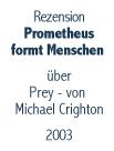 Button zur Buchbesprechung von Prey von Michael Crighton