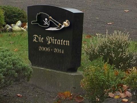 Der Grabstein der Piraten