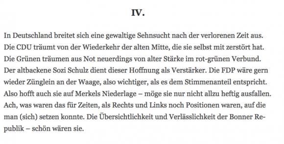 Ausschnitt Wolfgang Herles bei Tichy