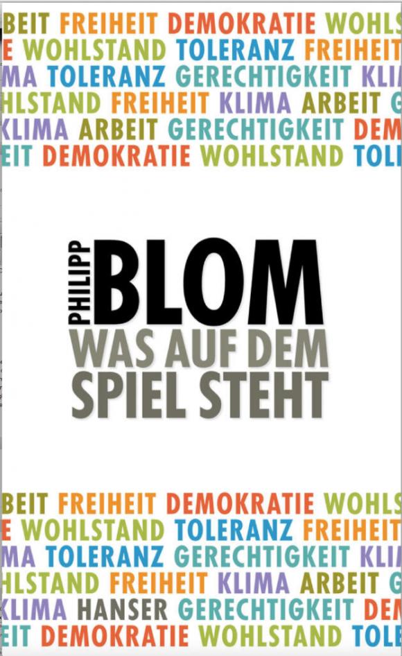 Buchtitel Philipp Blom - Was auf dem Spiel steht