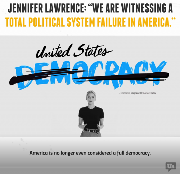 Jennifer Lawrence engagiert sich