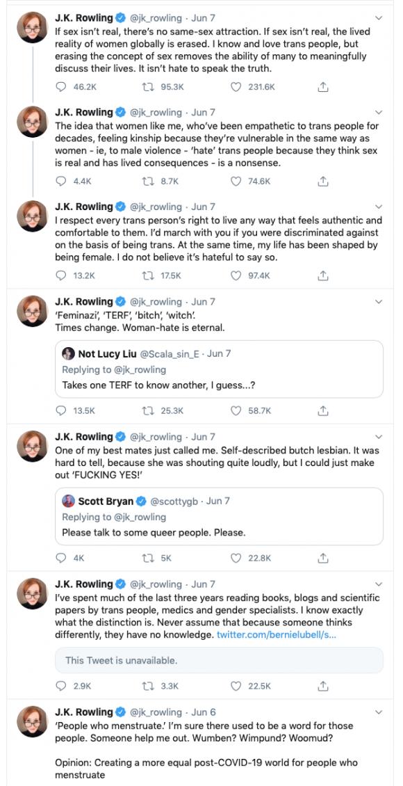 Tweets by JK Rowling