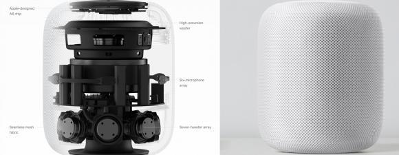 Der Apple HomePod innen und aussen