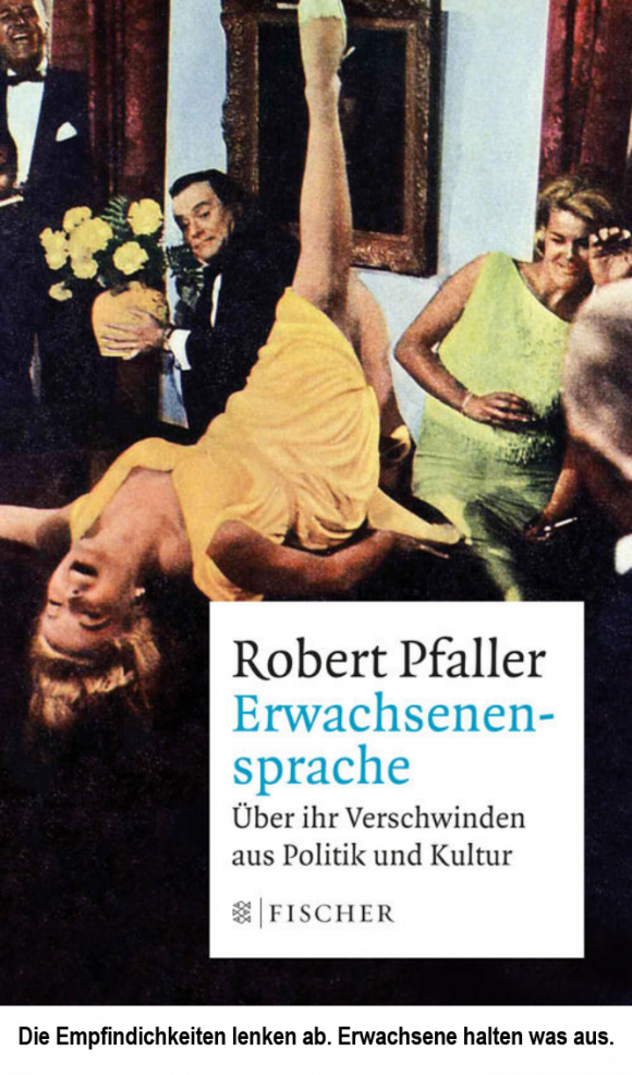 Das Cover: Robert Pfaller – Erwachsenensprache
