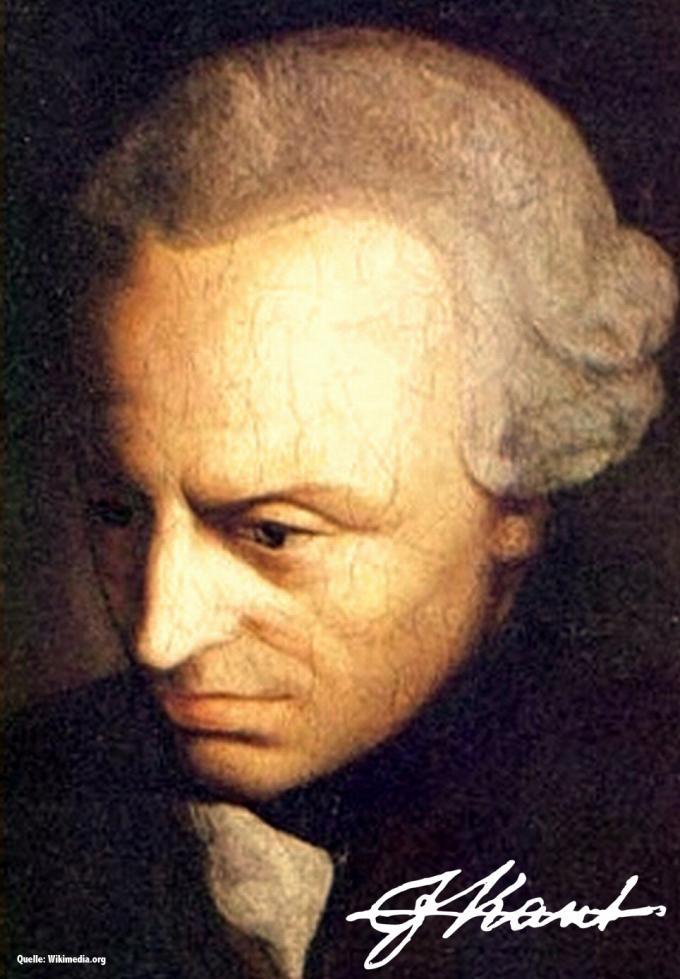 Portrait Immanuel Kant