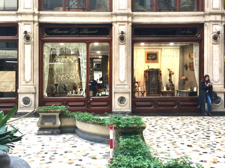 Ein Antiquitäten-Geschäft