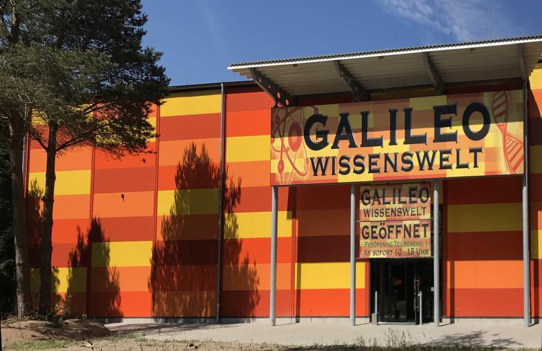 Galileo Wissenswelt in farbenfroher Gestaltung