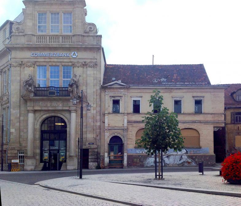Eine Commerzbank in Eisenach