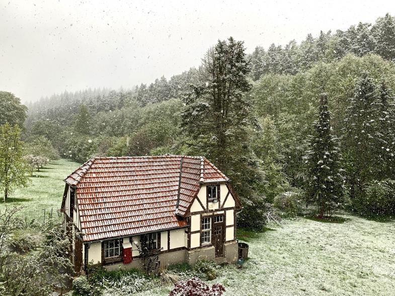 Es schneite