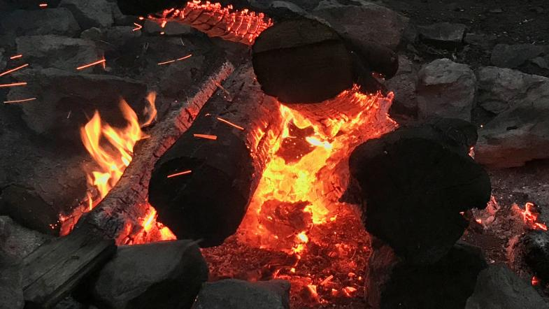 Blick ins Feuer