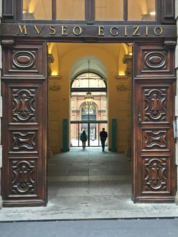 Eingang des Ägyptischen Museums