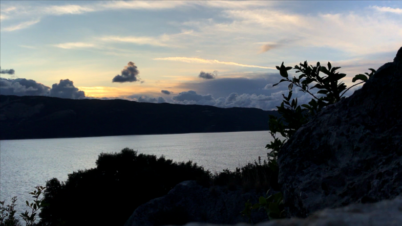 Sonnenuntergang auf Ithaka