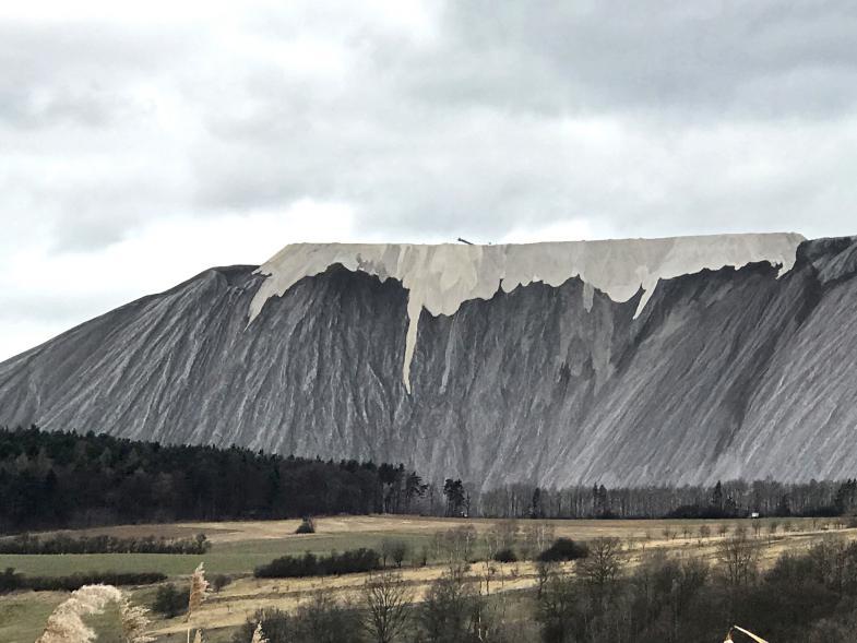 """Die sogenannten """"Weissen Berge"""""""
