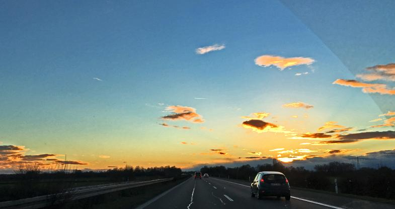 Af der Autobahn