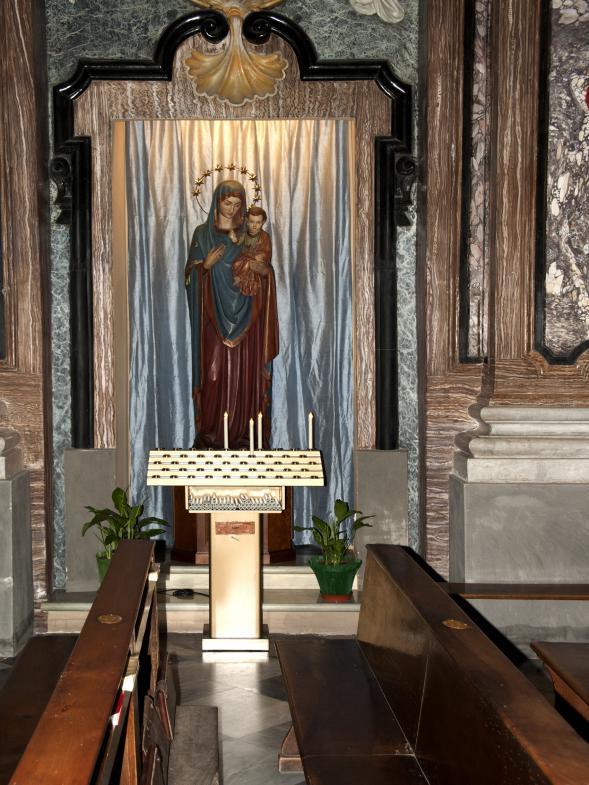 Bildnis der Maria mit dem Kinde
