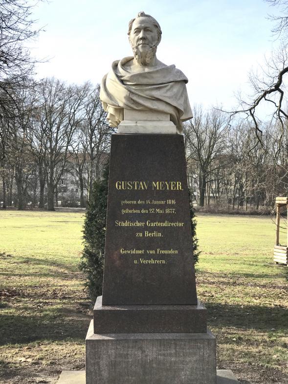 Gustav Meyer Statue