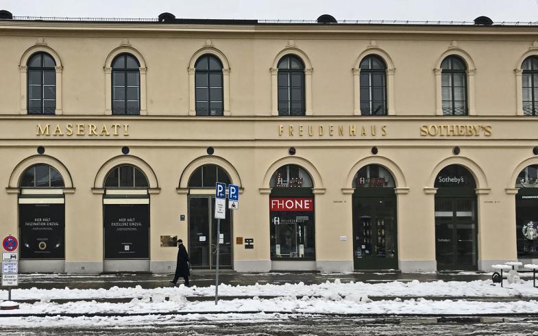 """Das """"Freudenhaus"""" in München"""