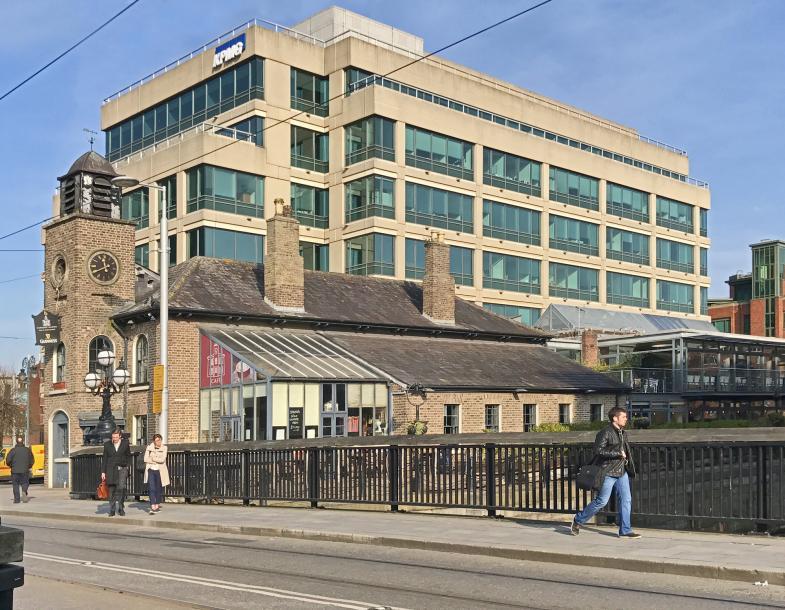 Das KPMG Gebäude in Dublin