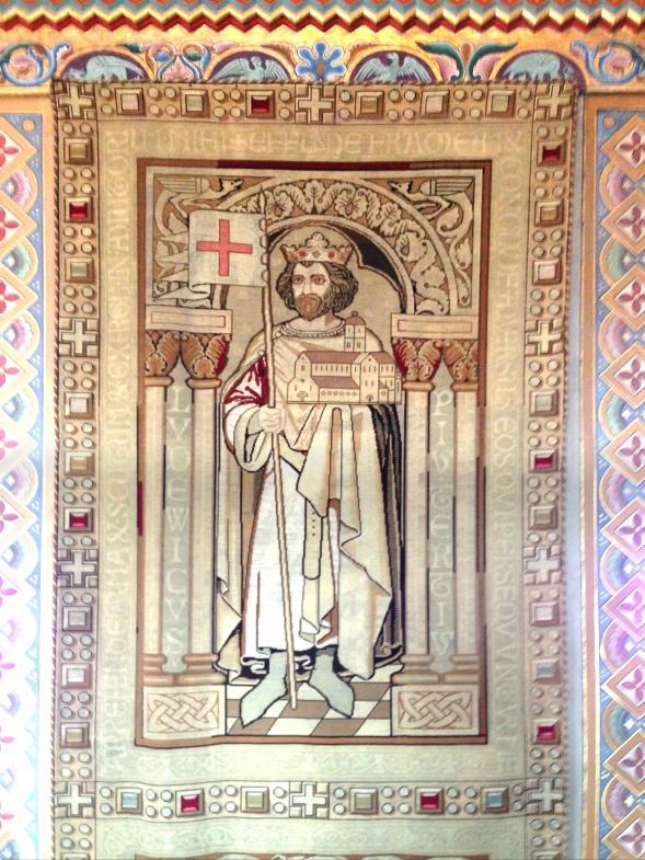 Wandteppich von jenem Ludwig