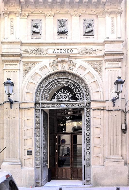 Portal des Ateneo di Madrid