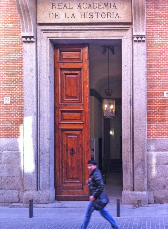 Portal der Real Akademia de la Historia