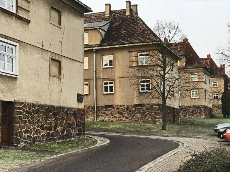 Reihenhäuser bei Dresden