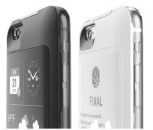 Der zweite Bildschirm für das iPhone - auf der Rückseite des Gerätes